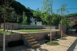 Parterno uređenje, kompleks Mitrović